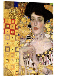 Gustav Klimt - Portrait of Adele Bloch-Bauer I (detail)
