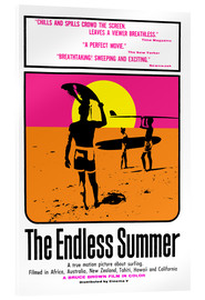 Acrylic print  The Endless Summer - Entertainment Collection