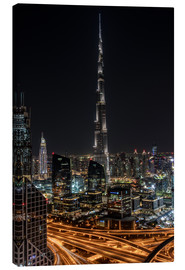 Canvas print  Dubai Skyline - United Arab Emirates - Achim Thomae