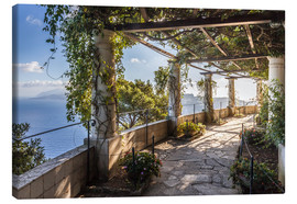 Canvas print  Garden of the Villa San Michele (Capri, Italy) - Christian Müringer