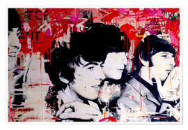 Poster  The Beatles - Michiel Folkers