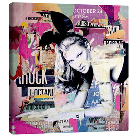 Canvas print  Kate Moss is playin' bad bunny - Michiel Folkers
