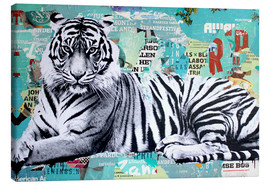 Canvas print  Tigerstyle - Michiel Folkers