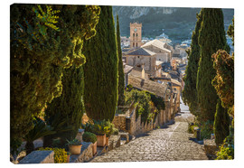 Canvas  Pilgrims path in Pollenca (Mallorca) - Christian Müringer
