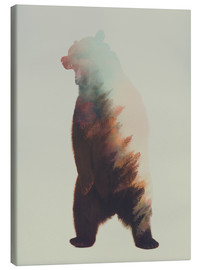 Canvas print  Norwegian Woods The Bear - Andreas Lie