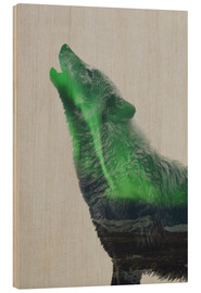 Wood  Howling in the Aurora Borealis - Andreas Lie