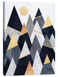 Canvas  Fancy Mountains - Elisabeth Fredriksson