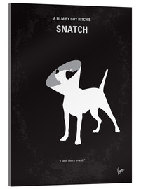 Acrylic glass  No079 My Snatch minimal movie poster - chungkong
