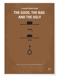 Premium poster  No090 My The Good The Bad The Ugly minimal movie poster - chungkong