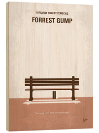 Wood print  Forrest Gump - chungkong