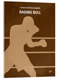 Acrylic glass  No174 My Raging Bull minimal movie poster - chungkong