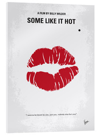 Acrylic print  Some Like It Hot - chungkong