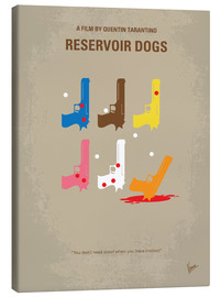 Canvas  No069 My Reservoir Dogs minimal movie poster - chungkong
