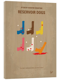 Wood print  Reservoir Dogs - chungkong