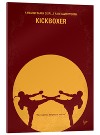 Acrylic glass  No178 My Kickboxer minimal movie poster - chungkong