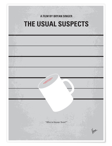 Premium poster The usual suspects