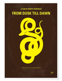Premium poster No127 My FROM DUSK  DAWN miniTHISmal movie poster