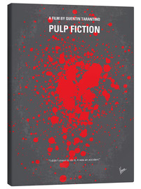 Canvas  No067 My Pulp Fiction minimal movie poster - chungkong