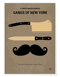 Premium poster Gangs of New York