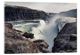 Acrylic print  Gulfoss - Images Beyond Words