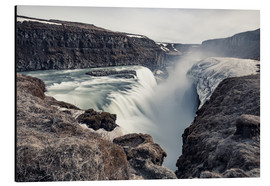 Aluminium print  Gulfoss - Images Beyond Words