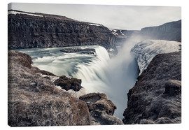 Canvas print  Gulfoss - Images Beyond Words