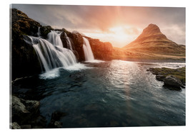 Acrylic print  Kirkjufell - Images Beyond Words