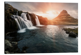 Aluminium print  Kirkjufell - Images Beyond Words