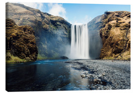 Canvas print  Skogafoss Waterfall - Images Beyond Words