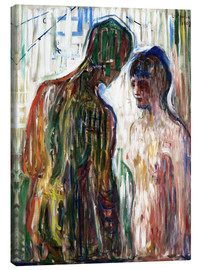 Canvas  Cupid and Psyche - Edvard Munch
