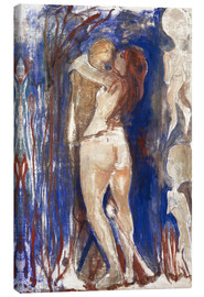 Canvas print  Death and Life - Edvard Munch