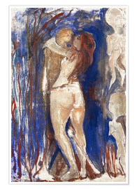 Premium poster  Death and Life - Edvard Munch