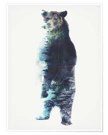 Premium poster Bear in the Woods