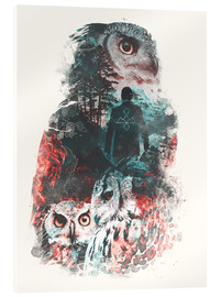 Acrylic print  The Owls are Not What They Seem - Barrett Biggers