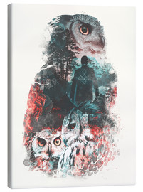Canvas print  The Owls are Not What They Seem - Barrett Biggers