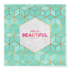 Poster Hello Beautiful