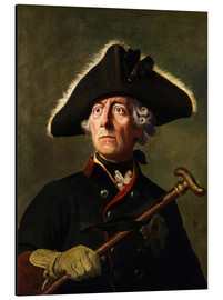 Aluminium print  Frederick the Great - Wilhelm Camphausen