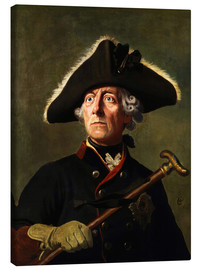 Canvas print  Frederick the Great - Wilhelm Camphausen