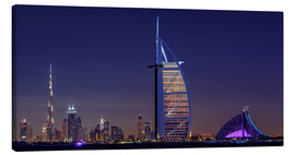 Canvas print  Dubai Cityscape, United Arab Emirates - Achim Thomae