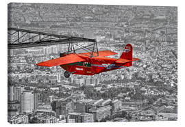 Canvas print  Sightseeing flight over Barcelona - jens hennig