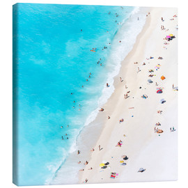 Canvas print  Summer on the beach, Greece - Matteo Colombo
