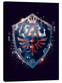 Canvas  Epic Shield of Hyrule - Barrett Biggers