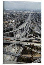 Canvas  Highways in Los Angeles - David Wall