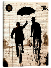 Canvas print  The umbrella - Loui Jover