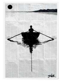 Premium poster  A simple plan - Loui Jover