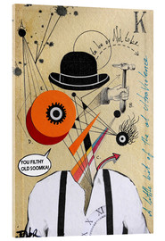 Acrylic glass  Clockwork orange - Loui Jover