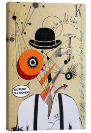Canvas print  A Clockwork Orange - Loui Jover