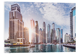 Forex  Sunset at Dubai Marina - Felix Pergande