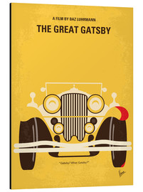 Aluminium print  The Great Gatsby - chungkong