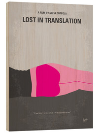 Wood  No287 My Lost in Translation minimal movie poster - chungkong